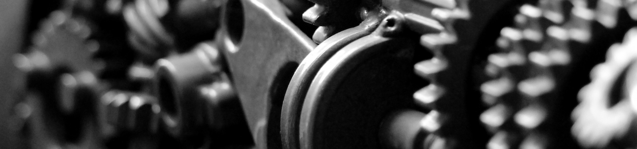 Gears in an engine